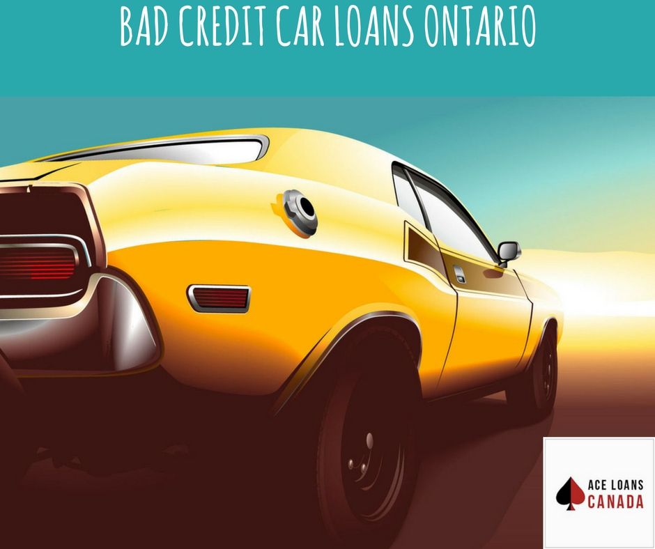 Bad Credit Car Loans Ontario
