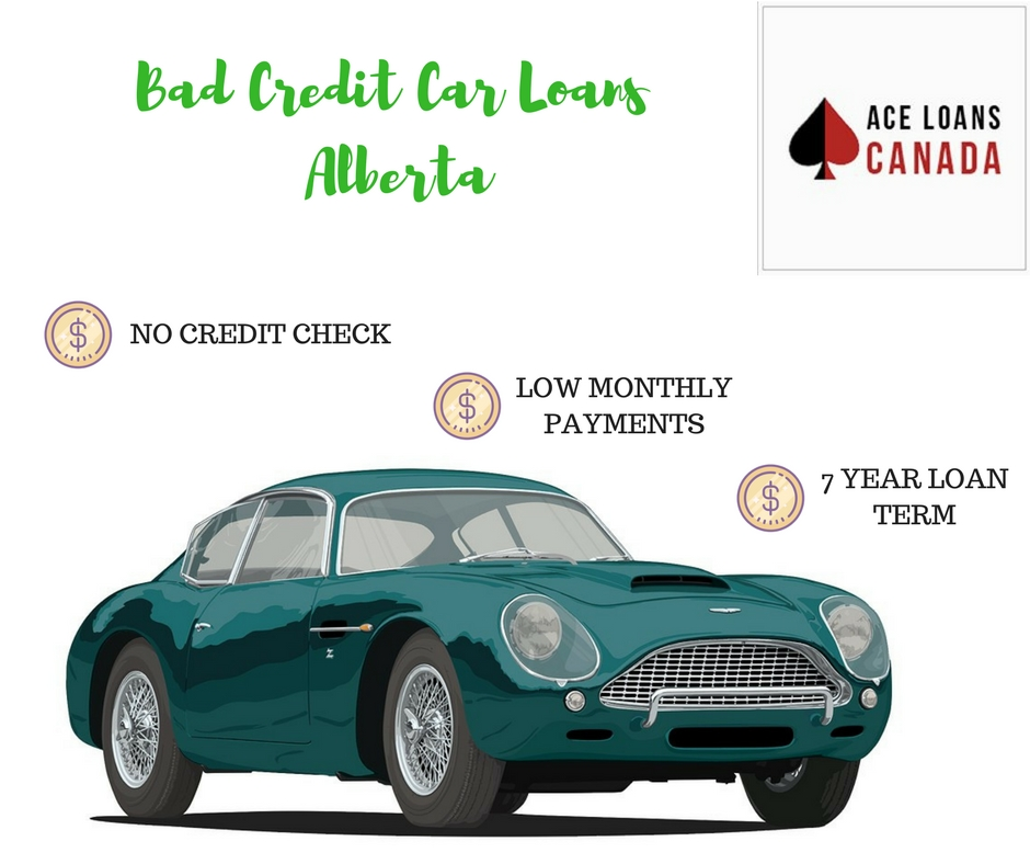 Bad Credit Car Loans Alberta